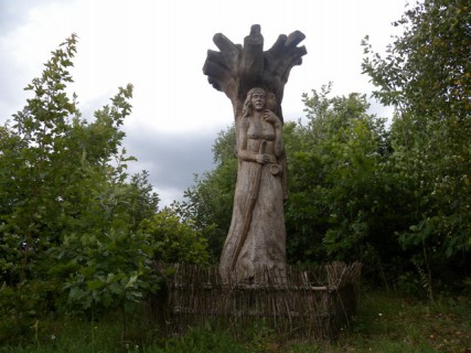 Bogini Dziewanna, Podlasie