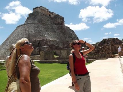 Meksyk - Uxmal,piramidy