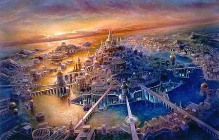 Poseida - stolica Atlantydy