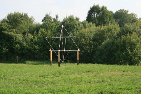 Nowa Merkaba Brama Światów - piramida ogrodowa