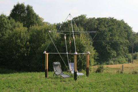 Piramida Ogrodowa Merkaba - miejsce odpoczynku i medytacji