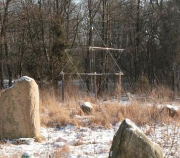Merkaba Brama Światów - energetyczna piramida ogrodowa