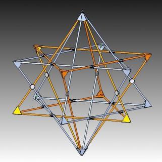 Merkiva - multidimensional merkaba