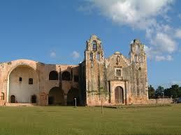 Kościół w Mani - klęska kultury Majów