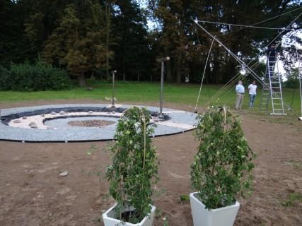 Merkaba Gwiezdne Wrota - wstępna faza montażu