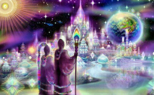 Istoty z innych wymiarów, duchowi opiekunowie