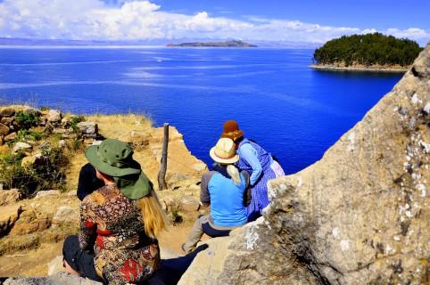 Wyspa Słonca - medytacja z szamanami przy Świetej Skale
