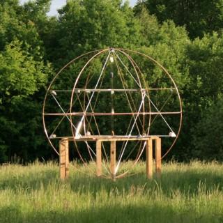 Sferyczna Piramida Czakram Ziemi,wielowymiarowa merkaba,merkiva,święta geometria