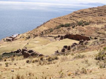 Isle de la Luna, wyspa księżyca na jeziorze Titicaca