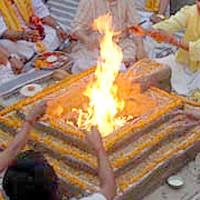 yagya, ofiarny ogień